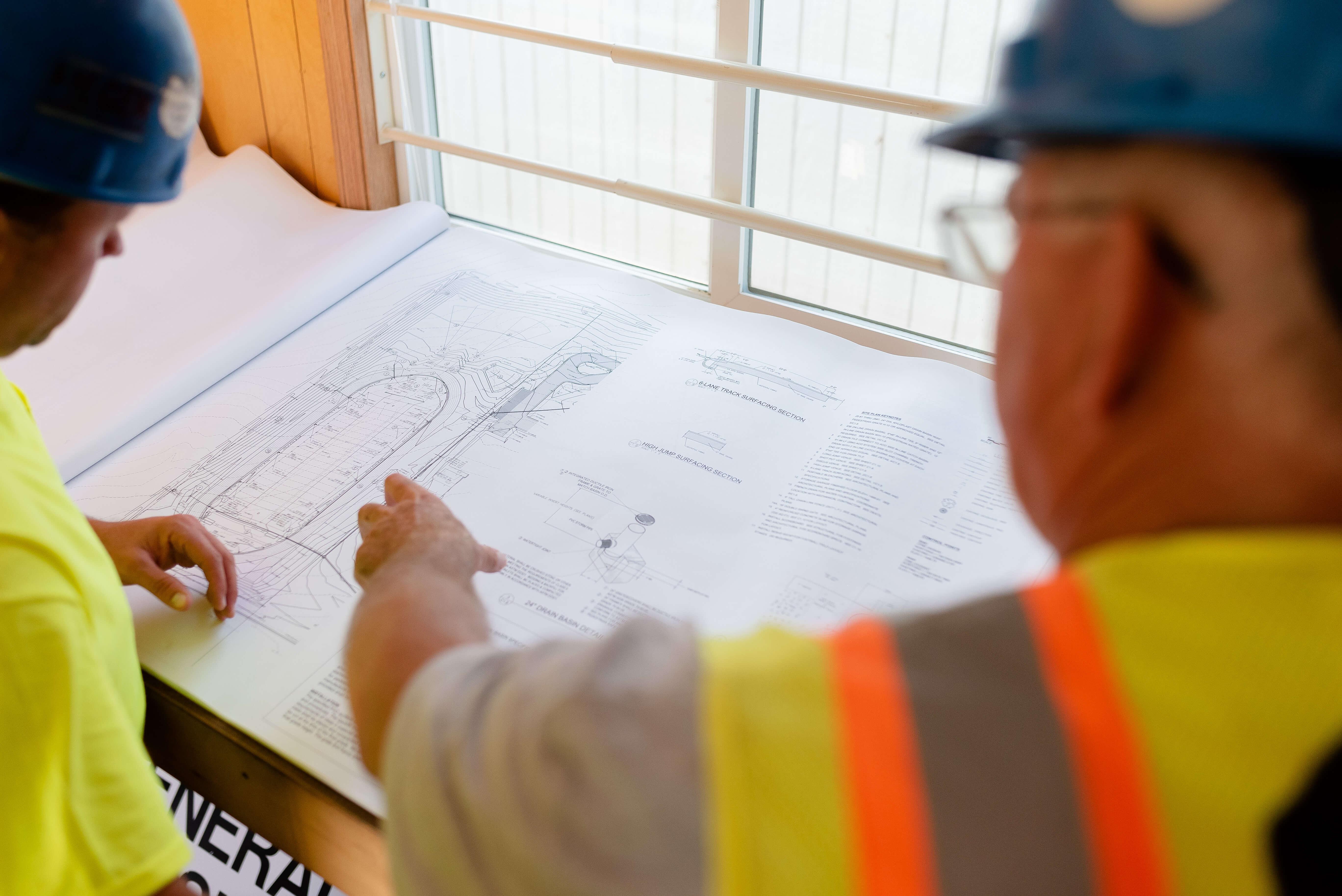 Fiegen Construction Plans