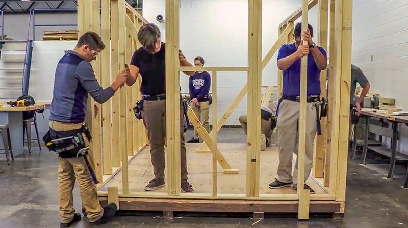 O'Gorman High School Industrial Arts Program   Fiegen Construction