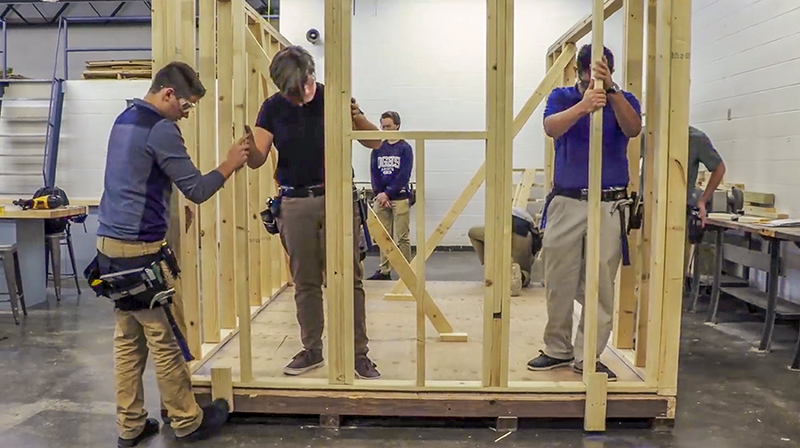 O'Gorman High School Industrial Arts Program | Fiegen Construction