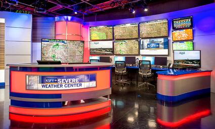 KSFY-TV Television Studio