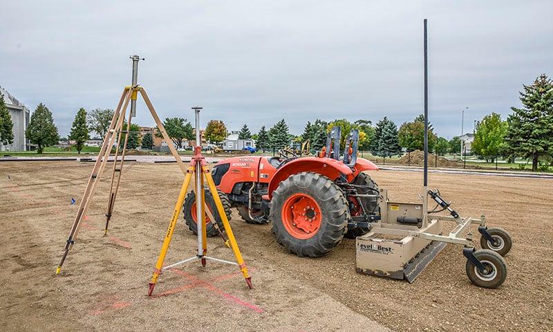 Dakota Dome Practice Field | Fiegen Construction | Sioux Falls