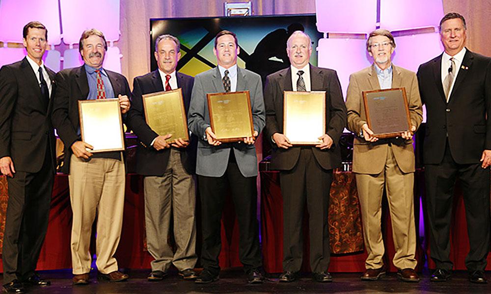 Photo showing Fiegen Construction wins Butler Career Builder Award 2015
