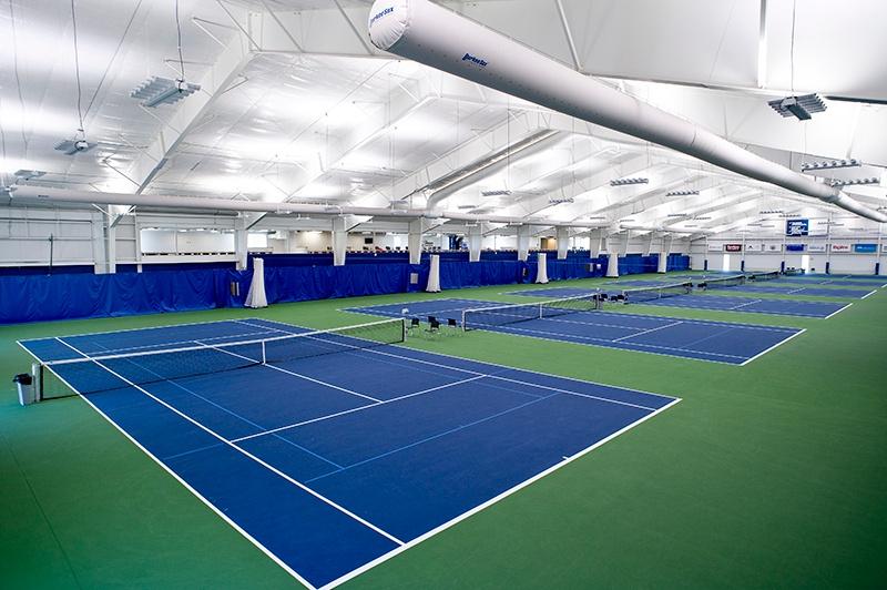 Huether Family Match Pointe tennis courts   Fiegen Construction