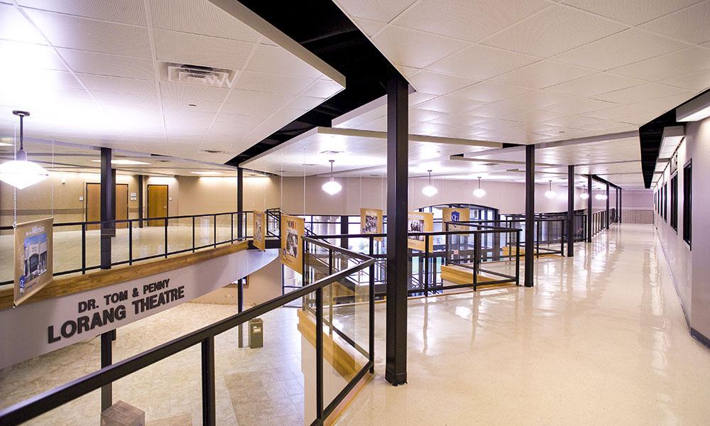 O'Gorman High School, Fiegen Construction