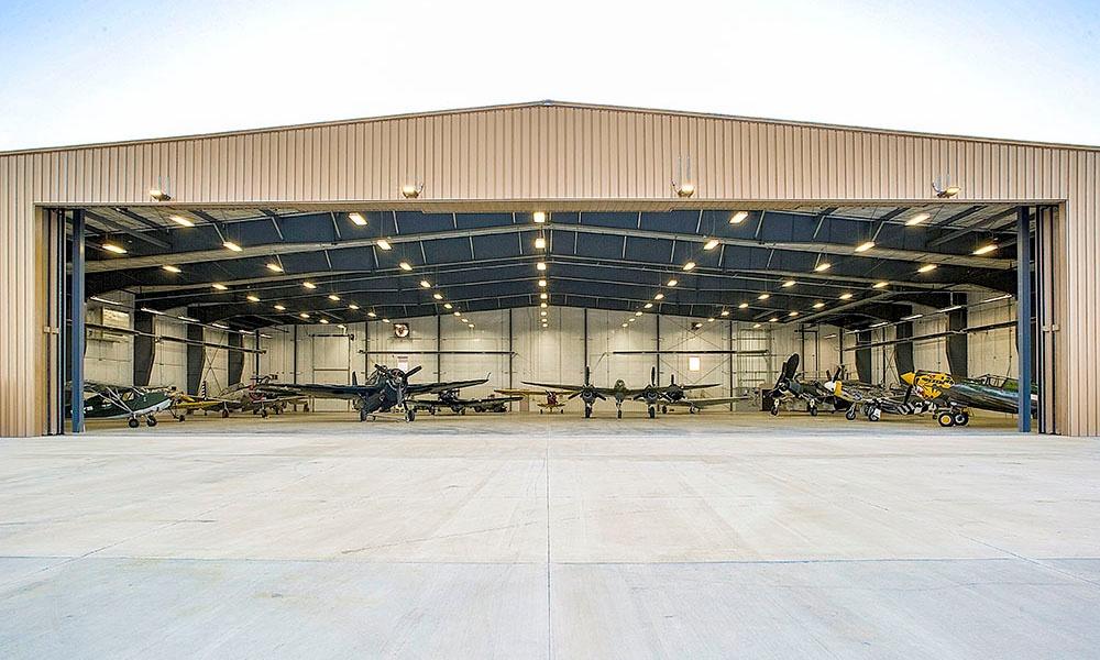 Sanford Hangar | Fiegen Construction