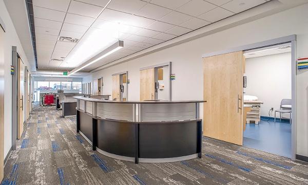 Sioux Falls Hospital Urgent Care Nurse Station | Fiegen Construction