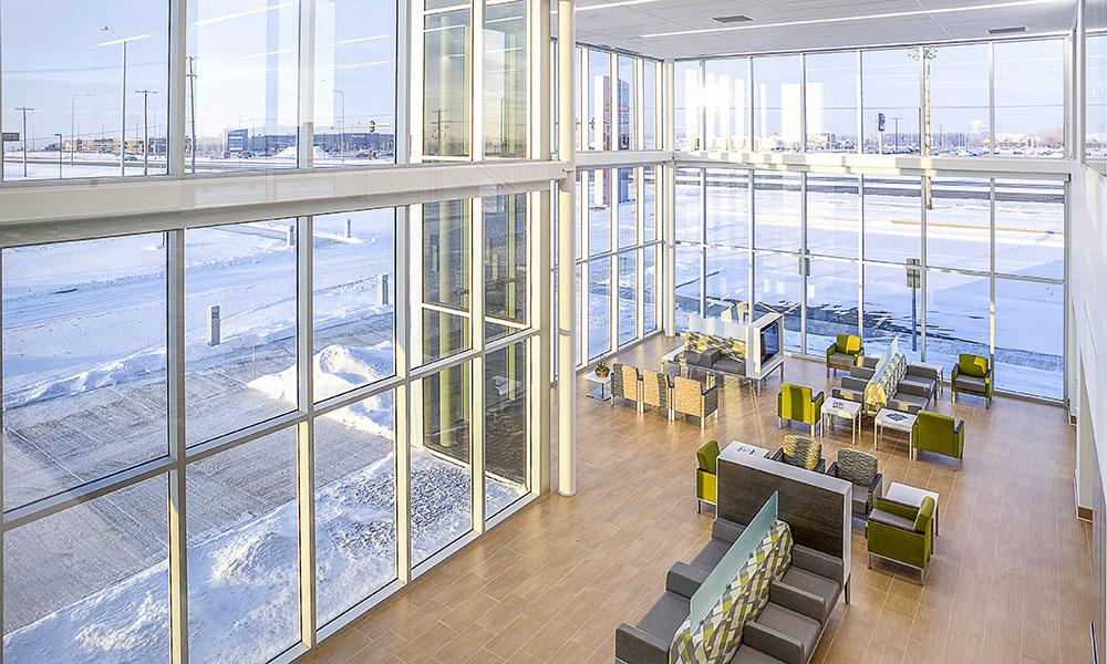 Sioux Falls Hospital Urgent Care Lobby | Fiegen Construction