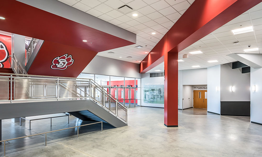Sanford Coyote Sports Center | Fiegen Construction | Sioux Falls South Dakota